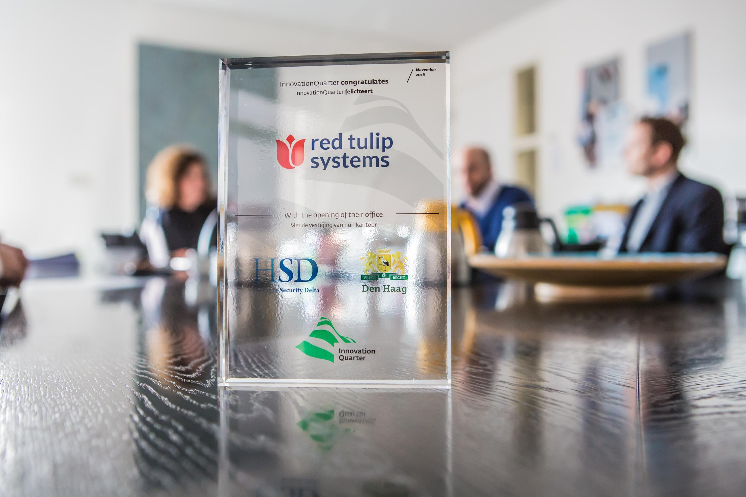Red Tulip Systems opent kantoor op HSD Campus 003