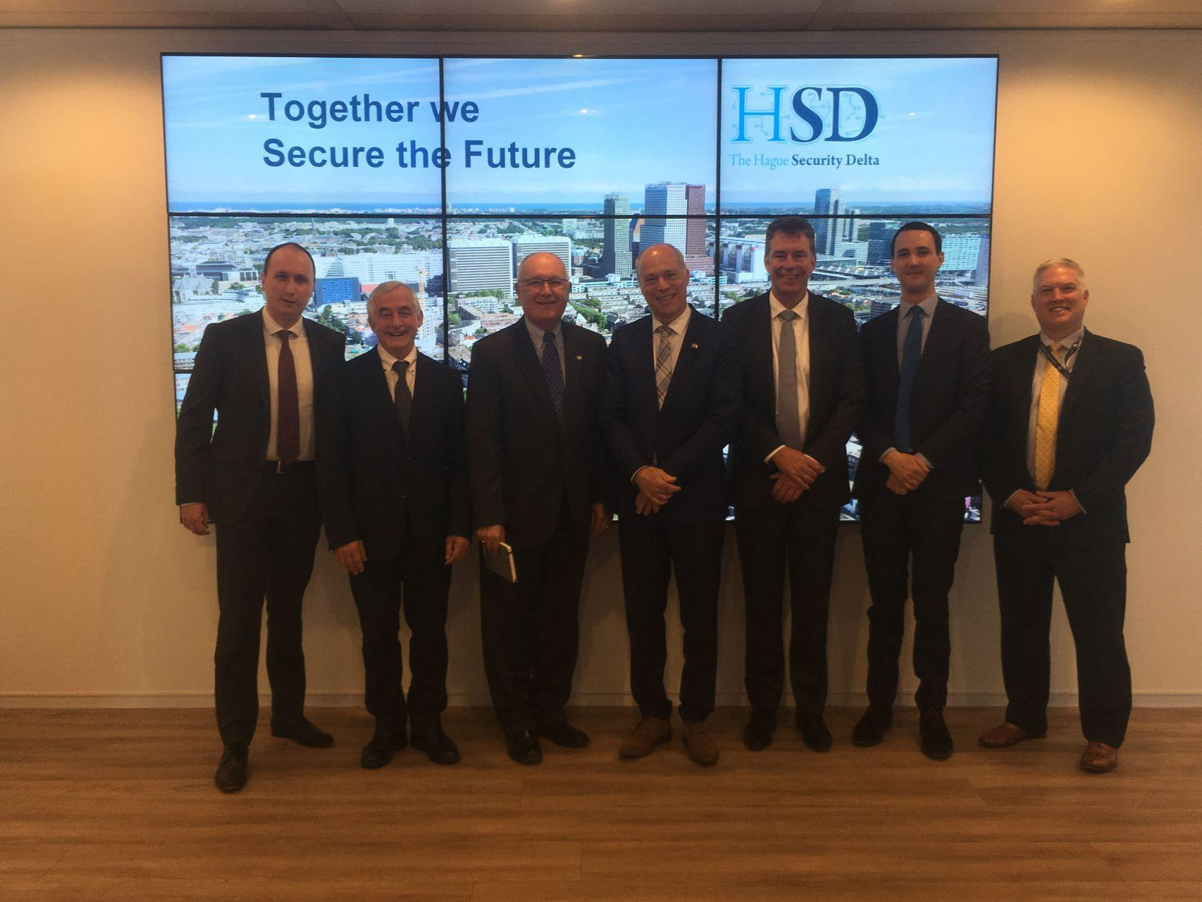 U.S. Ambassador to the Netherlands Visits HSD Campus