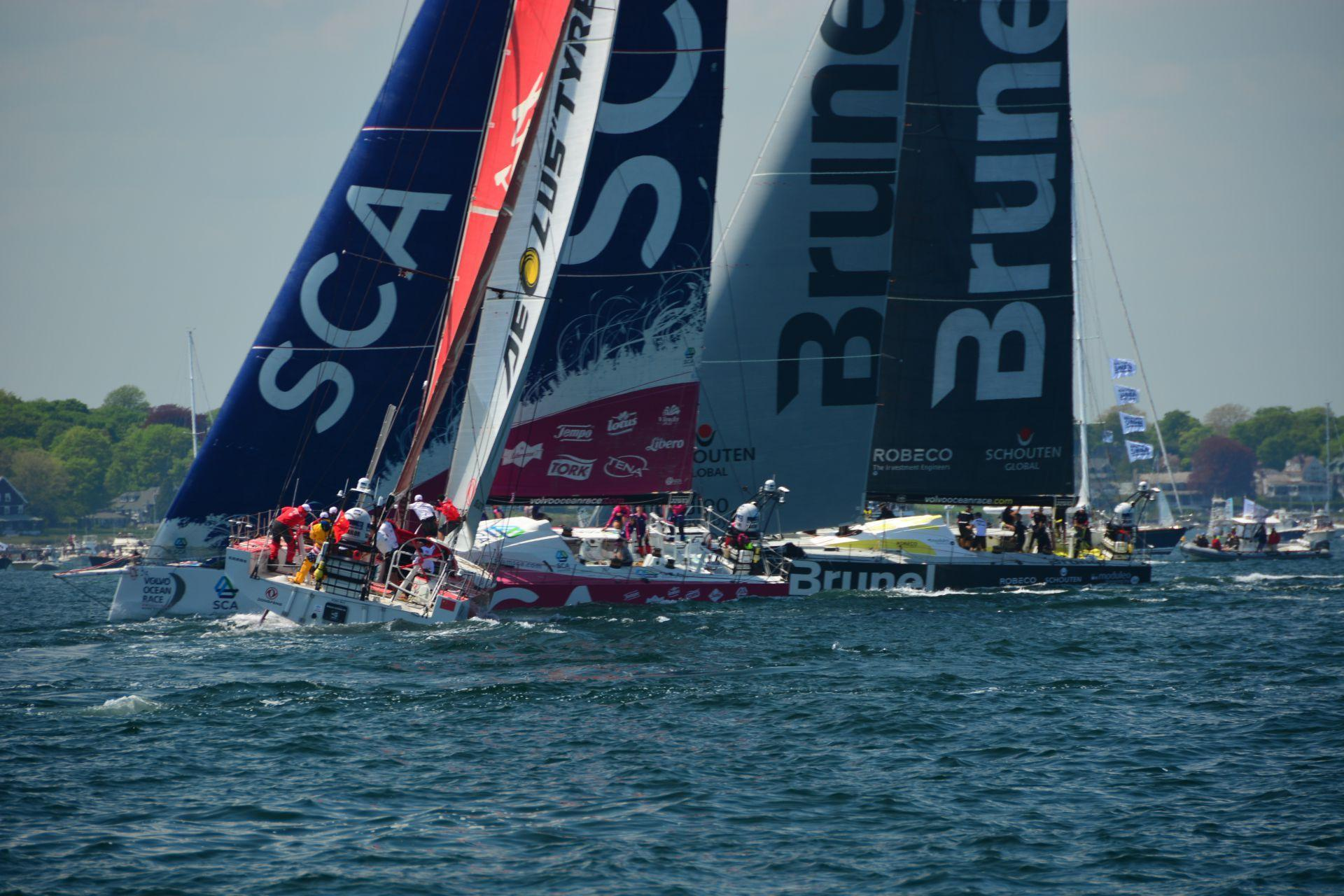 Event Safety & Security Track During Volvo Ocean Race Finish Week