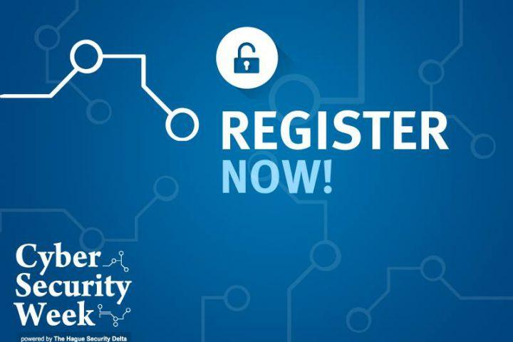 Now Open: Official Registration Cyber Security Week 2018