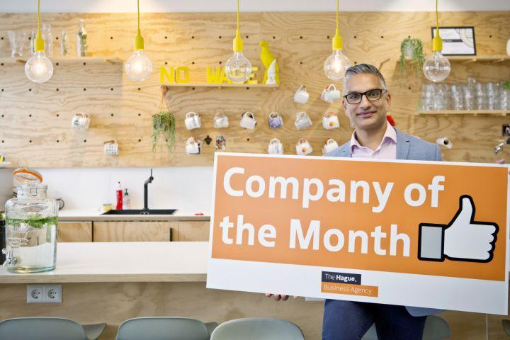 Hexegic Chosen as Company of the Month by The Hague Business Agency