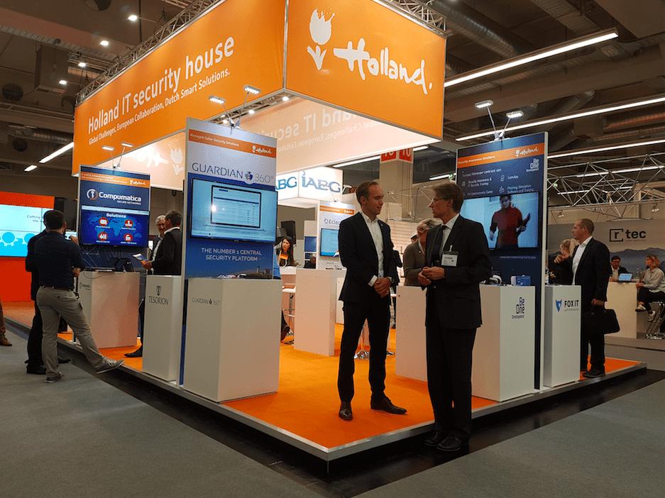 Join the Holland Pavillion IT-SA Nuremberg 2019
