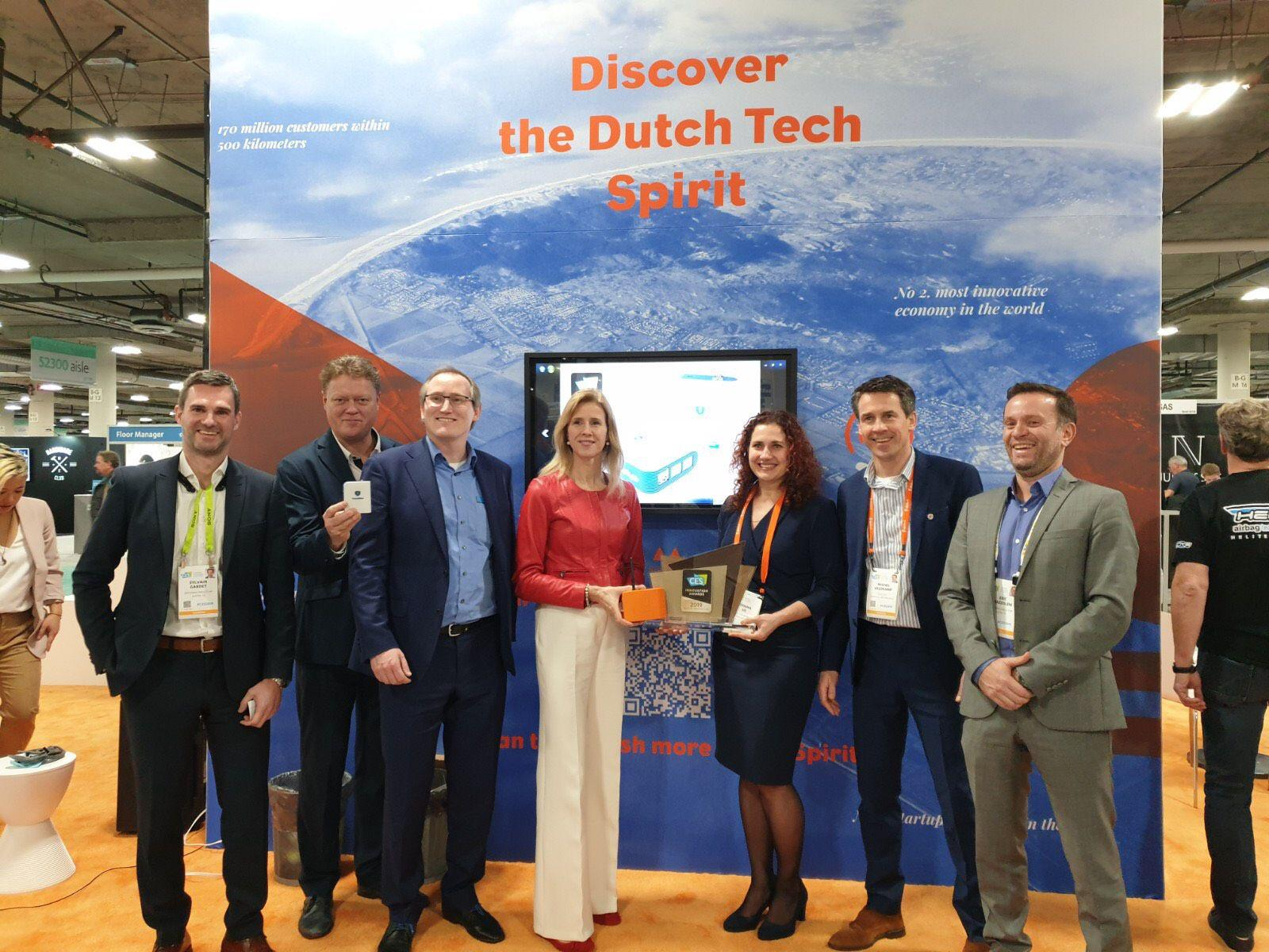 Scalys Wins Best Of Innovation Award at CES 2019 in Las Vegas