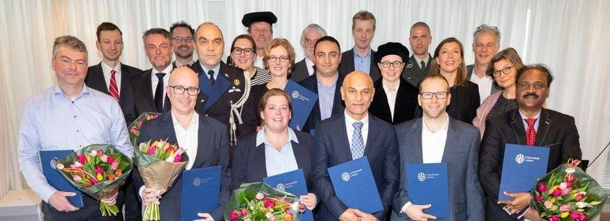 Graduation of Interdisciplinary Master Cyber Security
