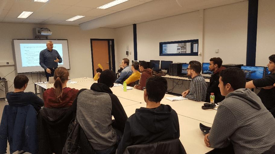 Work in Progress: ROC Mondriaan IT-students Perform Cybersecurity Scans at ZKD Business Park in The Hague