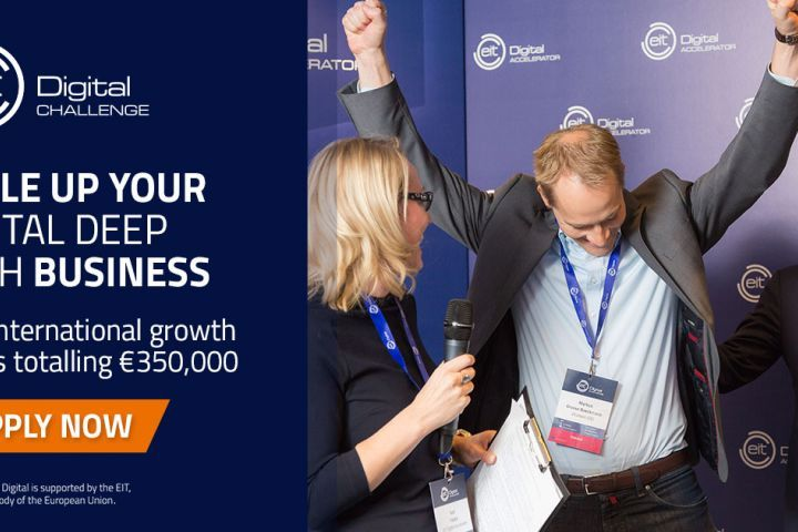 Deep Tech Scaleups: Apply Now to the EIT Digital Challenge 2020