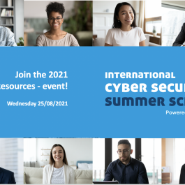 Want to Get in Contact with Cyber Security Talent? Join the Summer School 2021 HR-event!