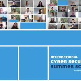 Students Broaden their Knowledge about Cybersecurity during Digital Summer School