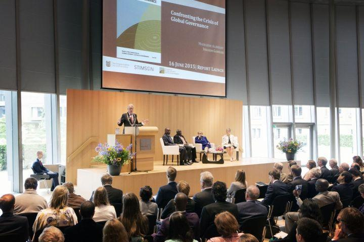 Report of the Commission on Global Security, Justice & Governance Launched at Peace Palace in The Hague
