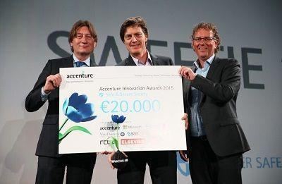 Sweetie 2.0 Winner of Accenture Innovation Awards Safe & Secure Society