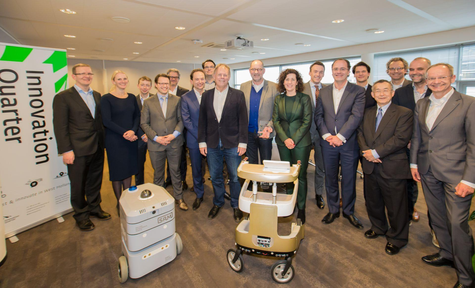 From Pitch to Investment of € 5 Million for Robot Robots Company