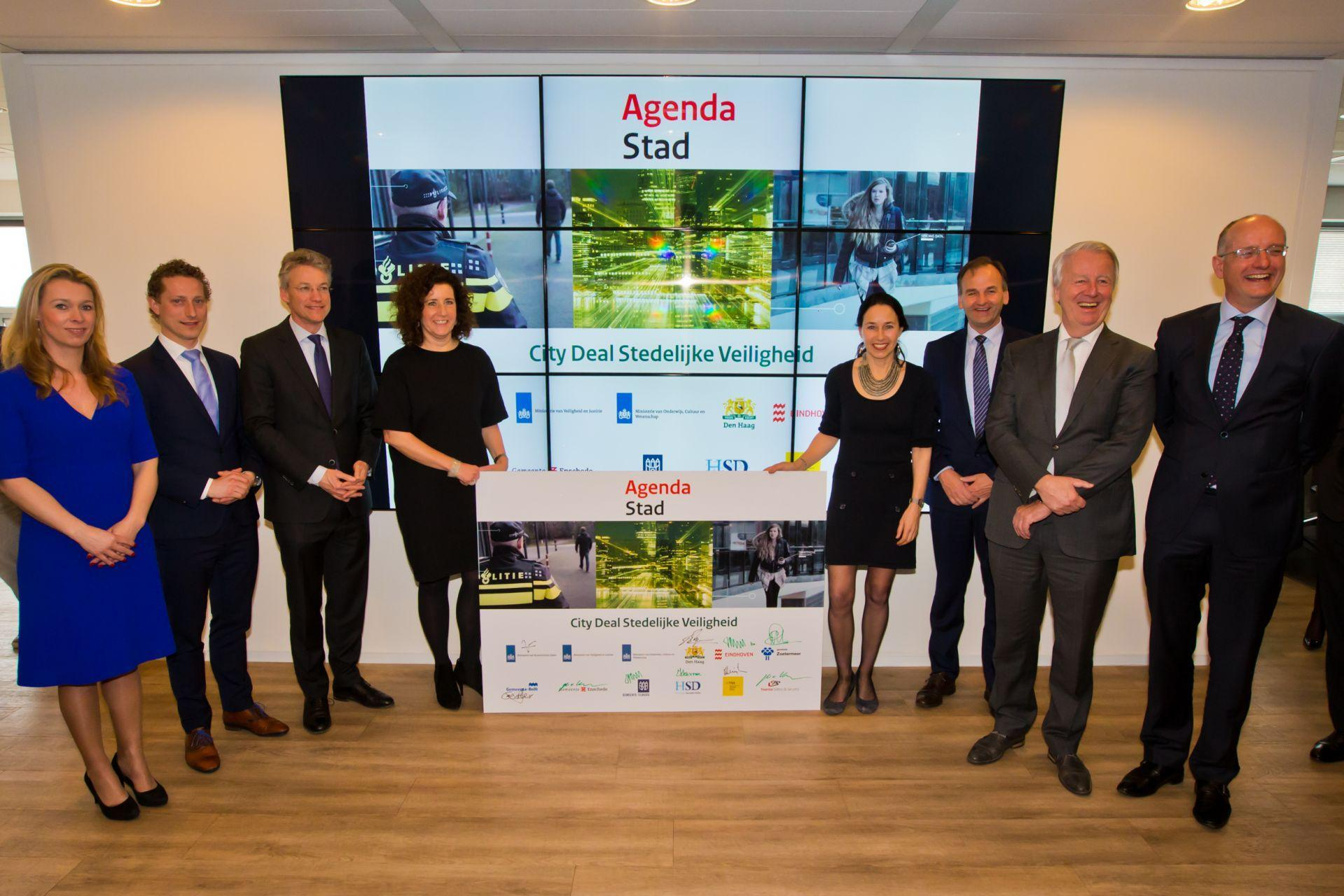 City Deal Urban and Digital Security Signed to Strengthen the Dutch National Security Cluster
