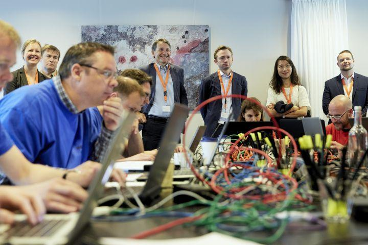 European Union Representatives Visit HSD Campus with Focus on 'Cyber Resilient Society'