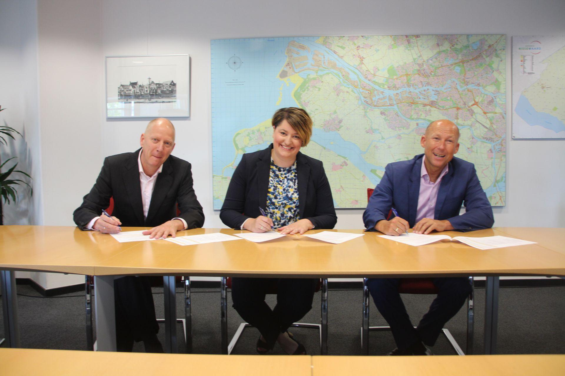 Municipality Nissewaard Signs Agreement Fieldlab Smart, Safe & Resilient Mainports