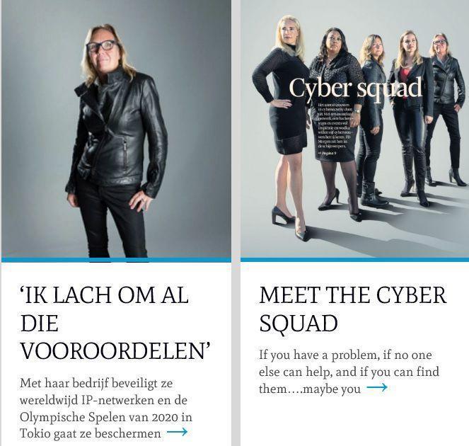 Dutch Women in Cyber Security (WiCS) : Petra van Schayik
