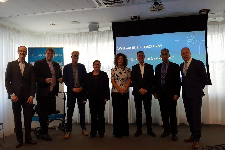 Five New Premium HSD Partners Present their Challenges on Security of Critical Infrastructures during HSD Café