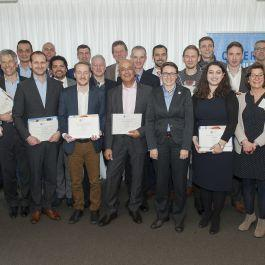 First Executive Master Programme Cyber Security Students Graduating
