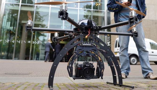 New Indoor Drone Center Valkenburg Opened