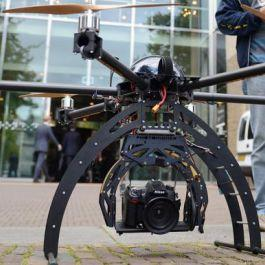 New Indoor Drone Center Valkenburg Opened