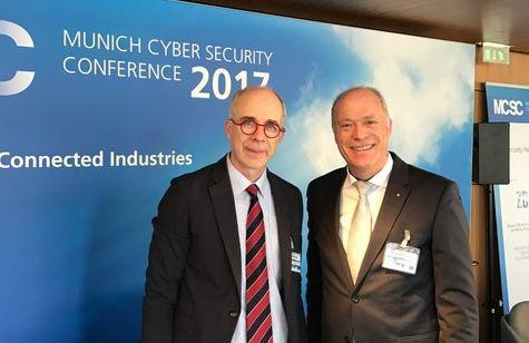 HSD Visits Security Network Munich and Conference