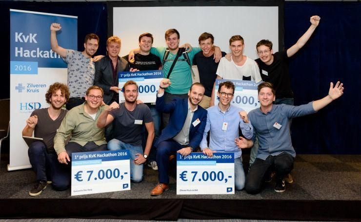 Winners of KvK SME Hackathon start their Business Phishermen