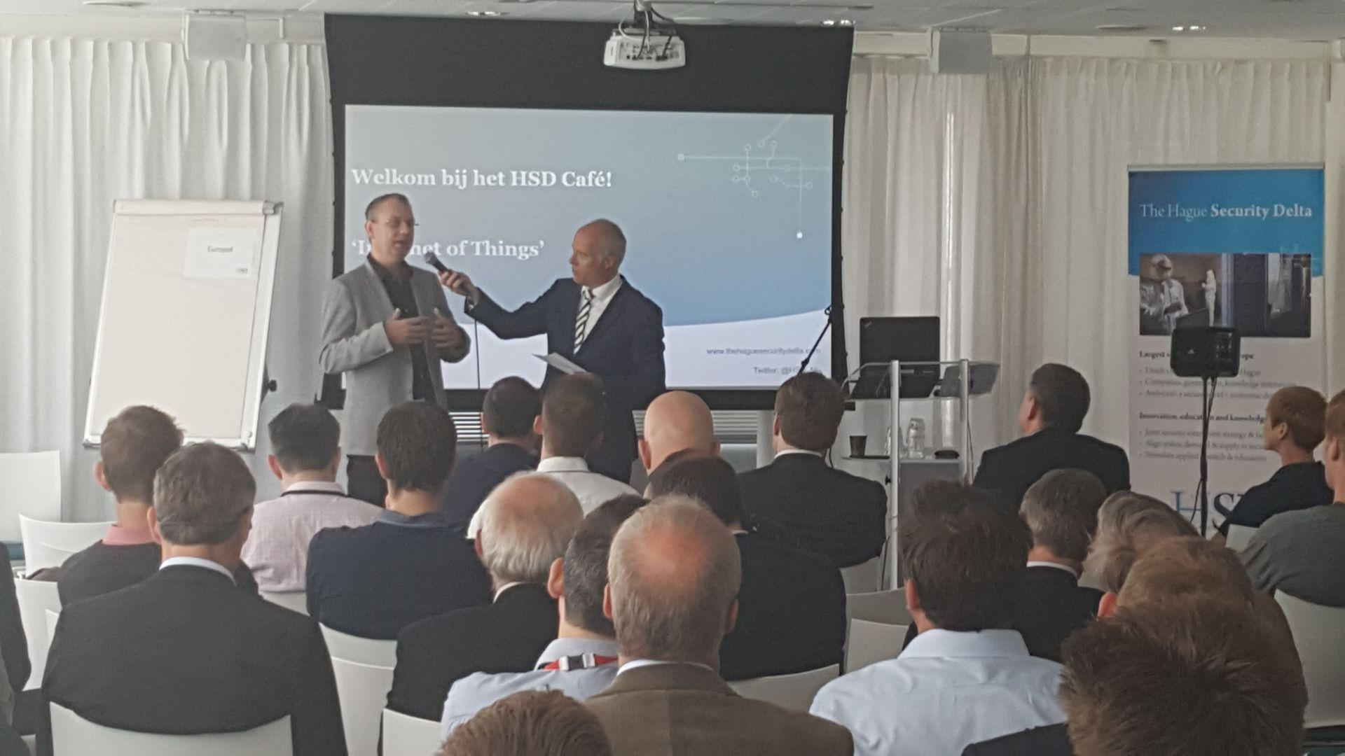 IBM Becomes New Premium Partner and Present its Challenges on Internet of Things (IoT) during HSD Café IoT