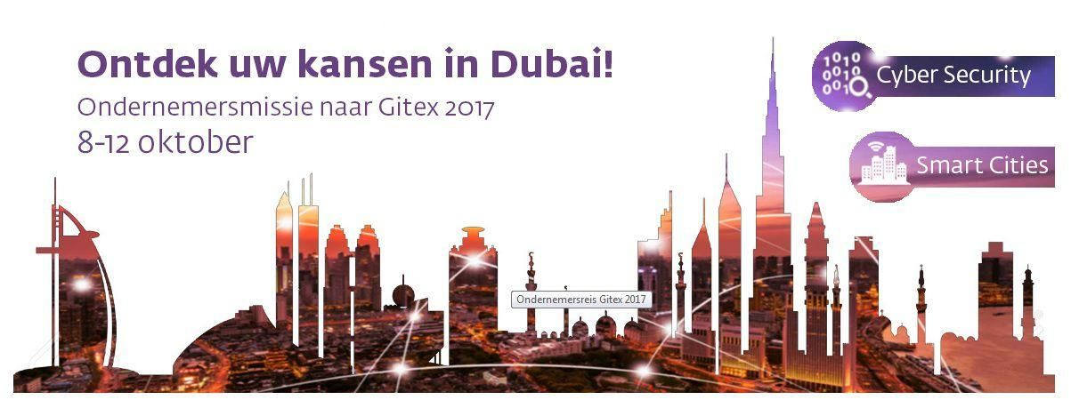 Join Business Trip to GITEX Technology Week with InvestInHolland Booth