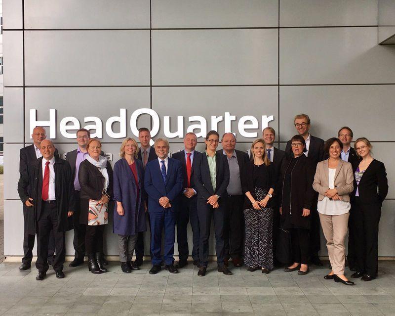 European visit of Secure Societies for 'Group of 6' meeting