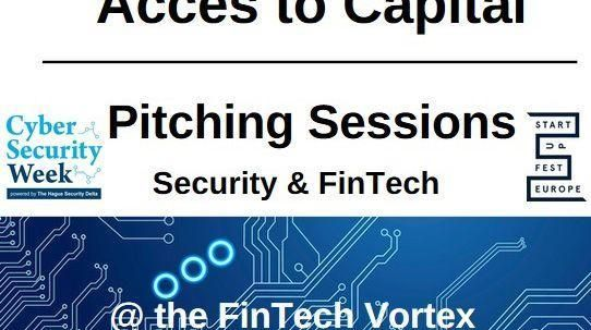 Invitation: Pitching for Capital @ The Fintech Vortex