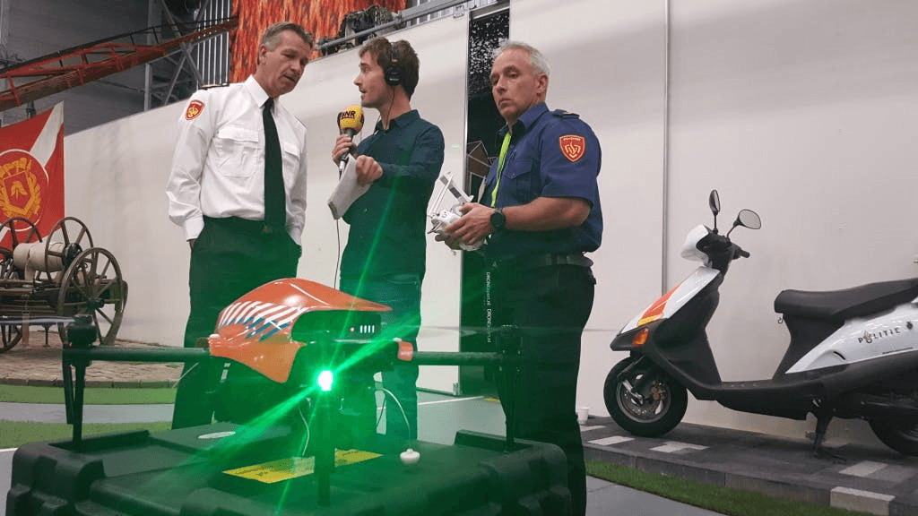 Dutch Firebrigade, Police and Ministry of Defence Sign Declaration to Cooperate in Training & Testing Deployment of Drones During Incidents
