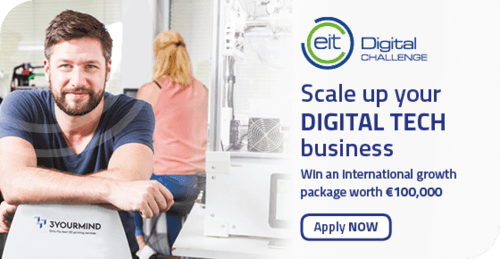 Scale Up Your Digital Tech Business and Win €100.000!