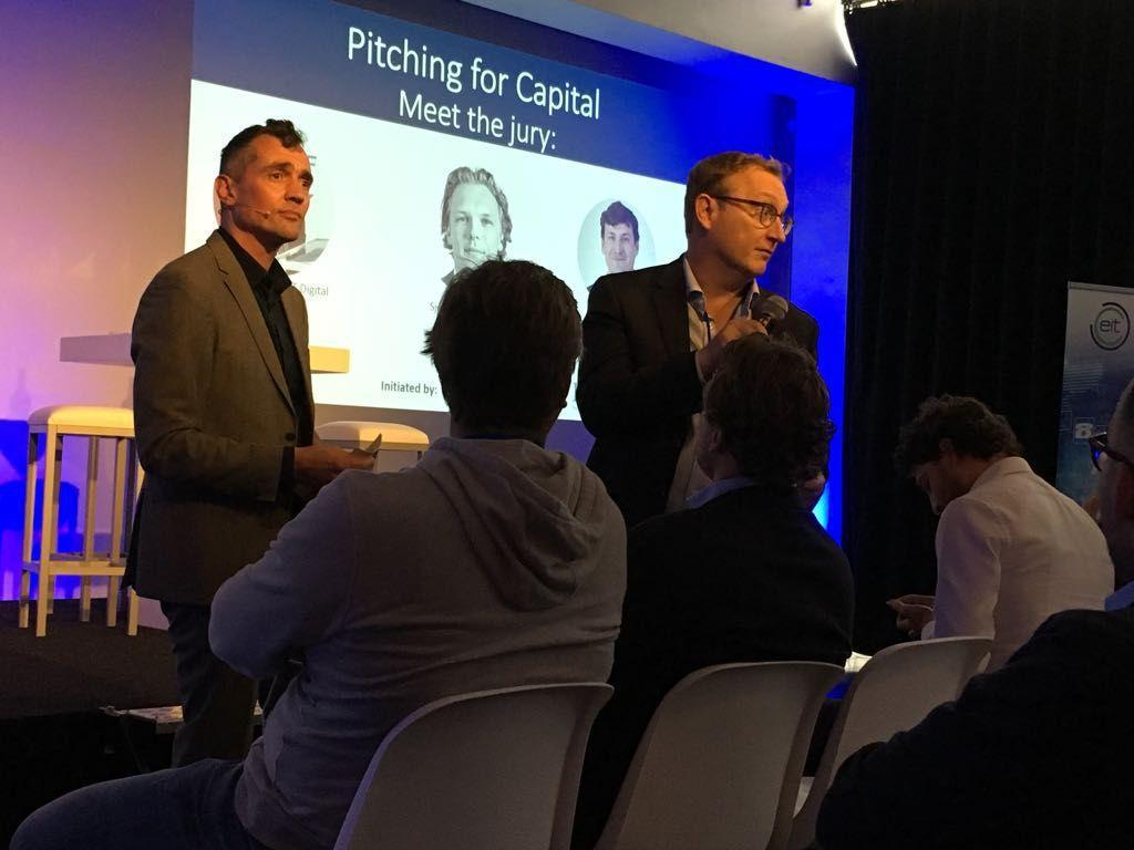 Promising Start Ups Pitching for Capital