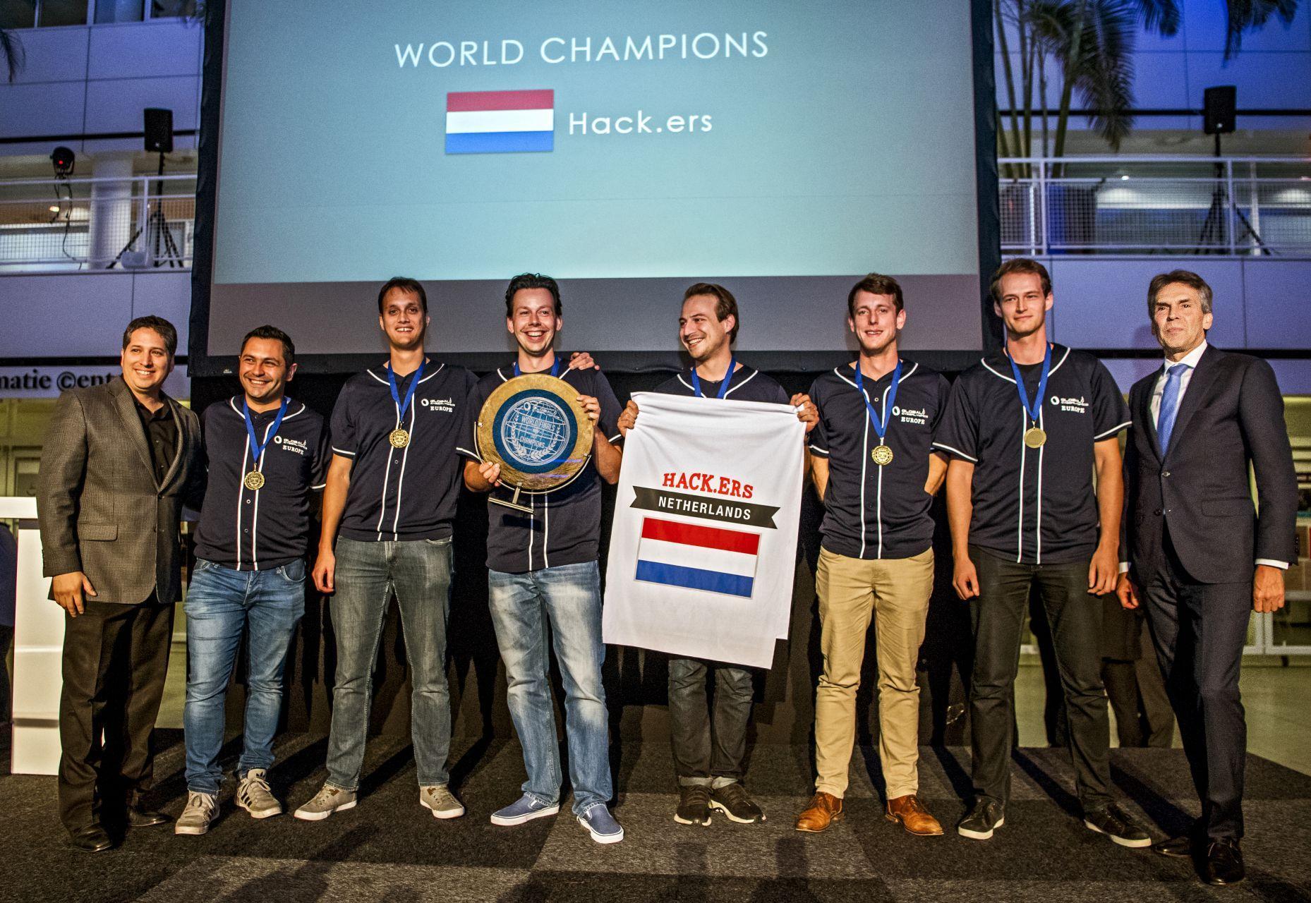 Netherlands Team Hack.ers World Champion Hacking