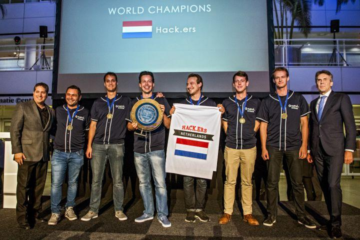 Netherlands Team Hack.ers World Champion Hacking