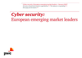 Cyber security: Emerging leaders in Europe