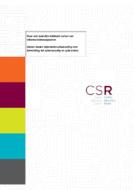CSR rapport 2017: Naar een landelijk dekkend stelsel van inf...