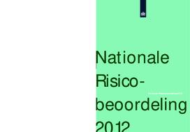 Nationale Risico Beoordeling 2012