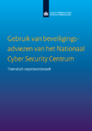Gebruik van beveiligingsadviezen van het National Cyber Secu...