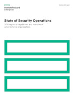 State of Security Operations